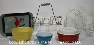 Collection of mid-century kitchenania