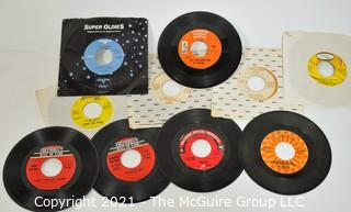 Collection of vinyl 45's