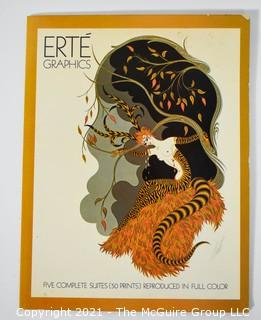 Erte Graphics: Five Complete Suites (50 Prints) Reproduced in Full Color