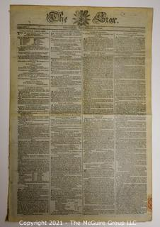 The London Star Newspaper, circa 1793
