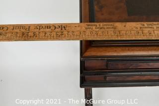 "Inlaid English Writing Desk.  21W x 16D x 32""T"