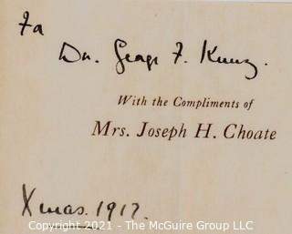 Biography on Joseph Hodges Choate