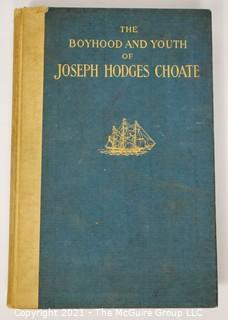 Biography on Joseph Hodges Choate