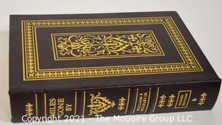 "Signed Leather Bound Collector's Edition by Easton Press "" Miles Gone By"" A Literary Autobiography by William F. Buckley, Jr .Includes Certificate of Authenticity."