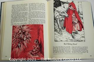 The Illustrated Treasury of Children's Literature  by P. Edward Ernst, 1955 with Color Illustrations.