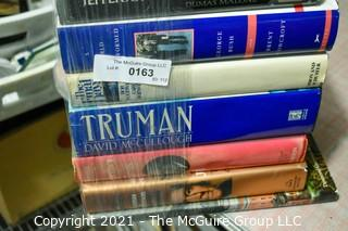 """Group of Books.   Includes Signed Copy of """"A World Transformed"""" About George Bush  by Brent Scowcroft."""