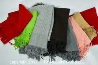 Group of Pashmina Scarves