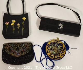 Four Evening Purses or Handbags