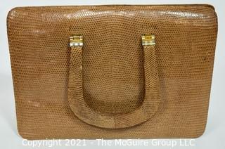 Three Vintage Leather Handbags including one Salvatore Ferragamo