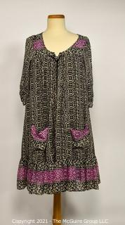 Free People Cotton Peasant Style Dress Size Medium.