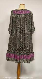 Free People Cotton Peasant Style Dress Size Medium.