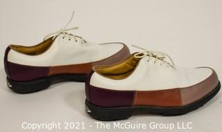 Women Foot Joy Europa Collection Leather Ladies Golf Shoes Size 7 medium; New