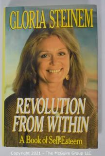 "Grouping of (7) volumes including ""Revolution From Within"" by Gloria Steinem"