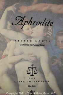 """Grouping of (8) volumes including """"The God's Are A-Thirst"""" by Anatole France"""