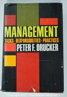 Eclectic Grouping of (11) volumes including author Peter Drucker