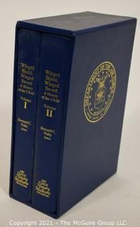 "2 Volume Set: ""Winged Shield, Winged Sword: A History of the U.S. Air Force"", edited by Bernard C. Nalty"