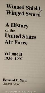 """2 Volume Set: """"Winged Shield, Winged Sword: A History of the U.S. Air Force"""", edited by Bernard C. Nalty"""
