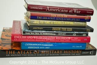 Group of (8) books on Military history