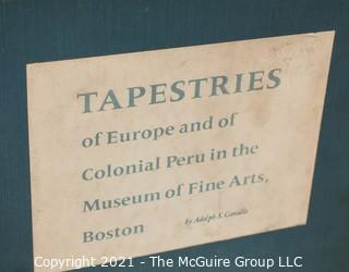 Grouping of (6) volumes, mostly on Tapestries and Textiles.