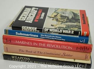 Grouping of (7) volumes on military history