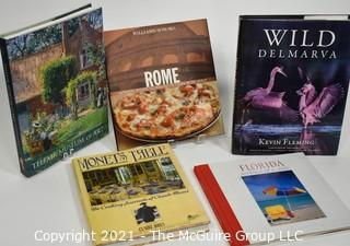 Grouping of (5) coffee table books on varying subjects