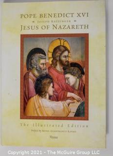 """""""Pope Benedict XVI: Jesus of Nazarath"""" by Joseph Ratzinger"""