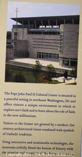 """""""At the Alter of The World""""; published by the Pope John Paul Cultural Center, Washington DC"""