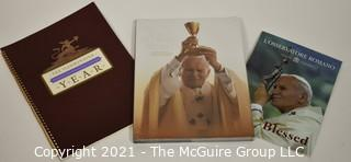 (3) Books re Pope John Paul II