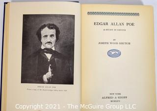 Edgar Allen Poe: A Study in Genius; by Joseph Wood Krutch