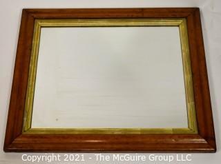 """Framed Mirror; 20 x 23"""""""