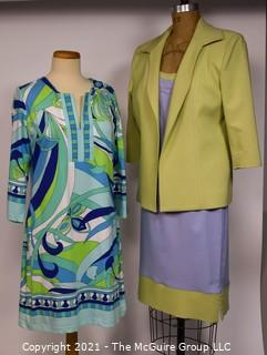 Two (2) Dresses by TD Bus and Barbara Gerwit.