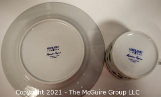 Set of Porcelain China Haviland Imperatrice Eugenie Dinnerware