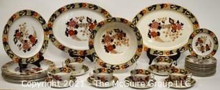 """Set Of """"Wincanton"""" Woods Ware From Wood & Sons Of England by Ralph Enoch Dinner Ware."""
