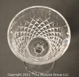 "Waterford crystal - Alana Pattern:<br> <br> (14) 5 7/8"" Claret Wine stems"