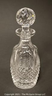 "Waterford Crystal Decanter with Stopper; 10 3/4""T"