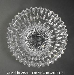 """Clear Crystal Glass Serving Bowl; 10"""" diameter x 5""""T"""