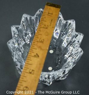 "Orrefors Swedish Crystal Bowl; 4 1/2"" diameter x 3"" tall"