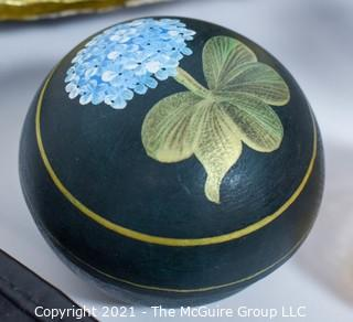 Group of Decorative Items including inkwell