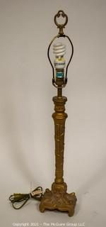 "Table Lamp; 30""T (no shade)"