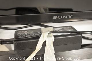 "SONY 39"" TV (screen measured diagonally)"