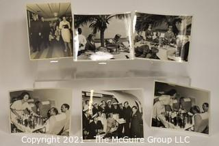 "Vintage B&W 8 x 10"" Pan Am Airlines Publicity Photos"