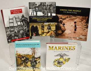Grouping of (5) volumes about U.S. Marines