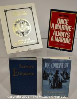 Grouping of (4) volumes on U.S. military history