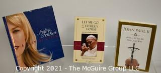 "Grouping of (3) volumes including Papal and ""A Year in Style""; by Frederic Fekkai, inscribed"
