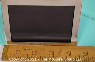 """Tiffany & Co. Sterling Silver Picture Frame.  Measures approximately 3.5"""" x 4""""."""