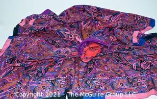 Large Silk Scarf by Jenast Paris.