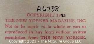 """September 28, 1981: """"New Yorker Magazine"""" Original Cartoon; A-6738"""
