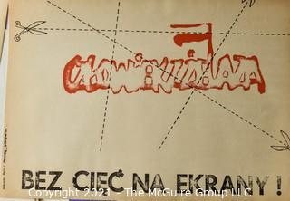 Reprinted Portfolio of Polish Solidarity Movement Posters; 1980-81