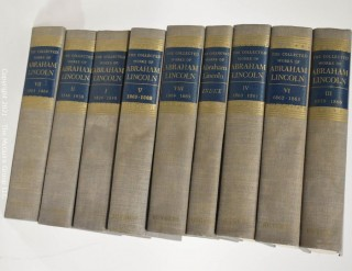 "Books: ""The Collected Works of Abraham Lincoln"", 9 volume set."