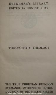 Books: Collection of 16 books; mostly religious